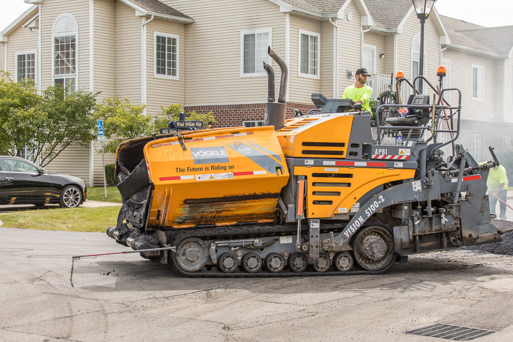 Blueberry Hill Paving Project